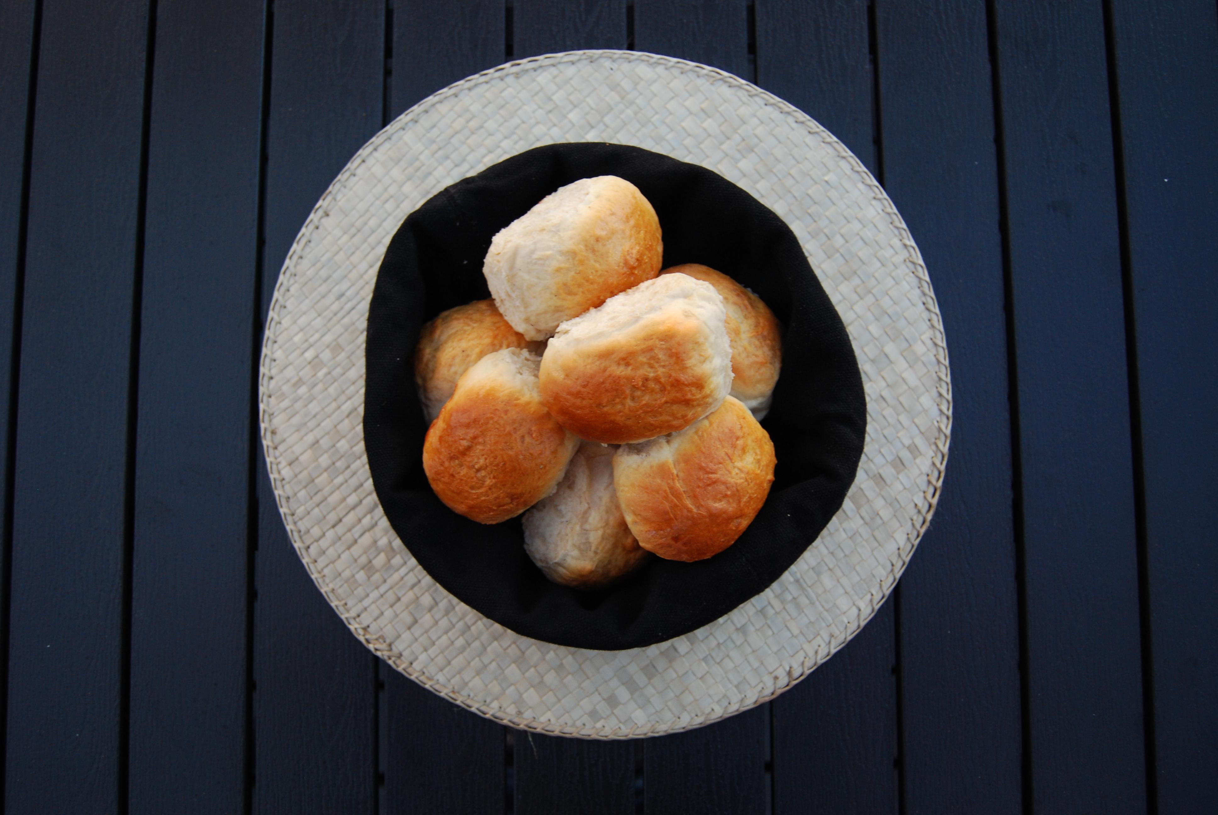 brunede kartofler med brun farin